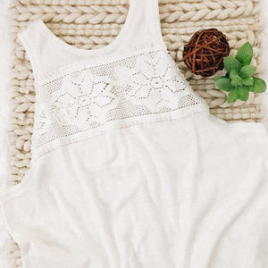 Free People crochet tank